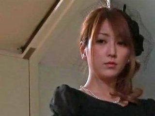 VJAV Video - Exotic Japanese Chick In Incredible Stockings Pansuto Handjobs Jav Video