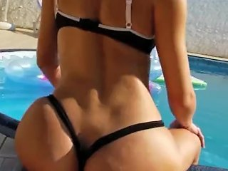 YouPorn Video - Jerking Off By The Pool