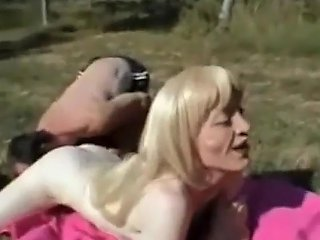 Shemalez Video - French Mature Trans And The Gardener By Troc