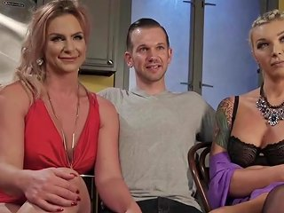 XHamster Video - Transgender Babes Analfuck And Cocksuck Trio Hd Tranny