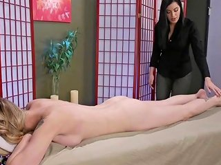 XHamster Video - Ts Casey Kisses Fucks Her Masseuse Cassandra Cain Tranny