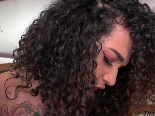 Sexy Shemale And Horny Stud Fuck And Suck Each Other